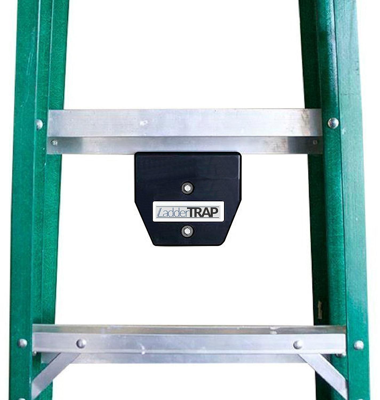 2 pack, Ladder Hook by Ladder Trap - Best Ladder Storage Solution,, and Easy Installation Ladder Grabber