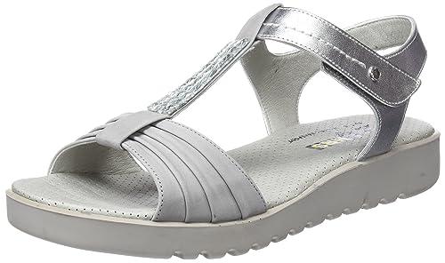 24 HORAS 23667, Sandalias con Tira a T para Mujer: Amazon.es: Zapatos y complementos