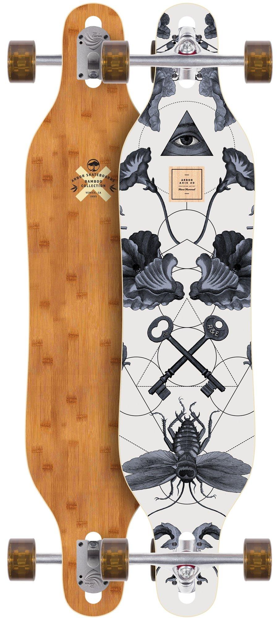 Arbor Axis Bamboo 2017 Complete Longboard New Premium Setup