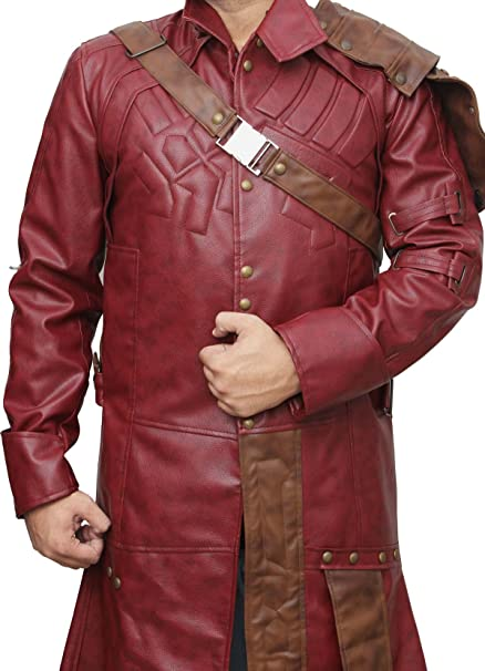 Guardians of The Galaxy Star Lord Trench Coat - Guardianes ...