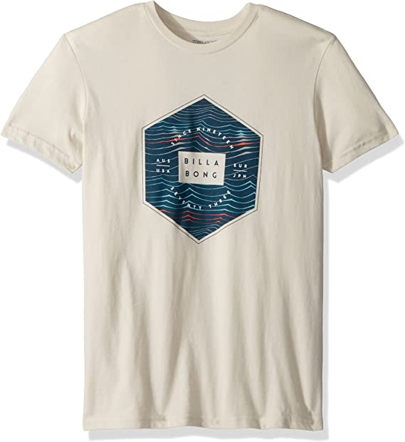 Billabong Boys Big Access Tee, Rock, S: Amazon.es: Ropa y accesorios