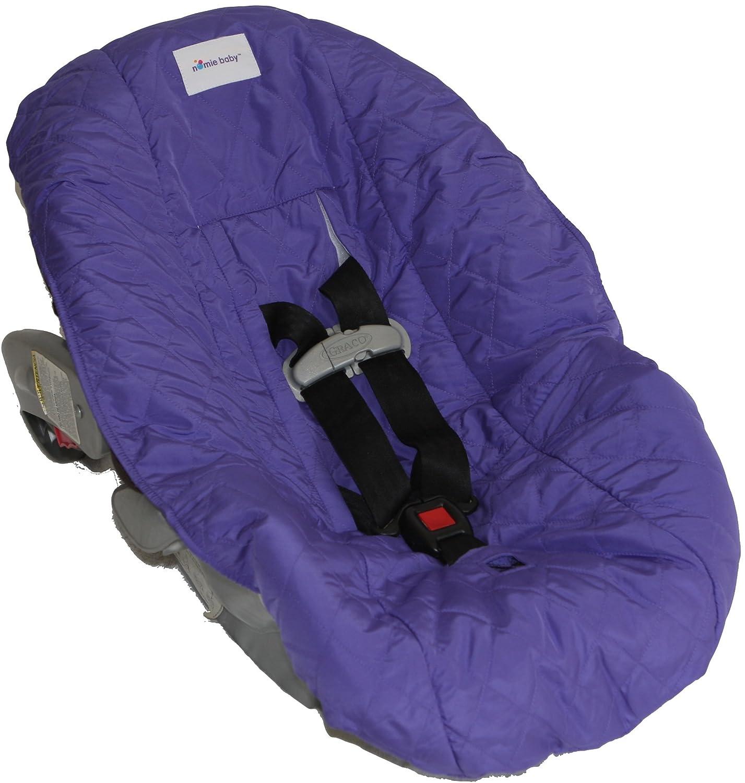 Nomie Baby Car Seat Cover, Purple CSC2PP