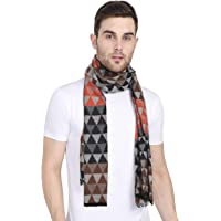FabSeasons Men's Casual Checkered Acrylic Woolen Muffler, Scarf & Stole for Winter, Size 30 * 180 cms