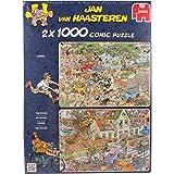 Jumbo - 619001 - 2 Puzzles - Jvh - Safari & Storm - 1000 Pièces