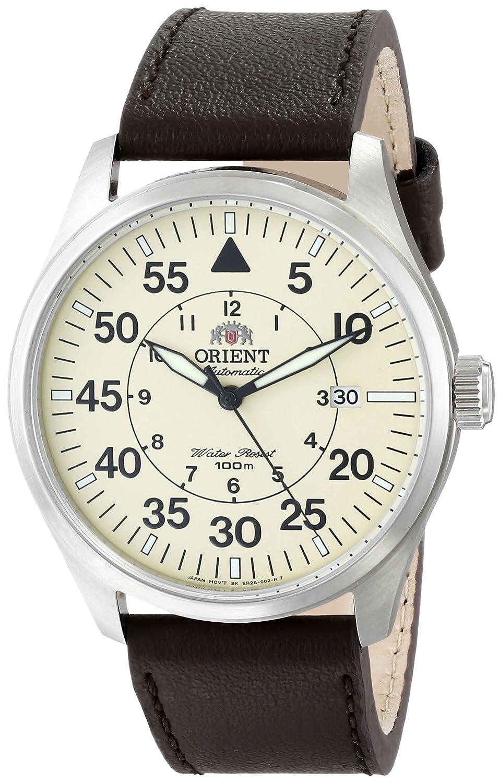Orient ER2A005Y - Reloj para Hombres, Correa de Cuero Color marrón: Amazon.es: Relojes