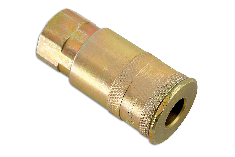 "Connect Fastflow Standard Female Zinc Adaptor 3//8/"" Pack of 5"