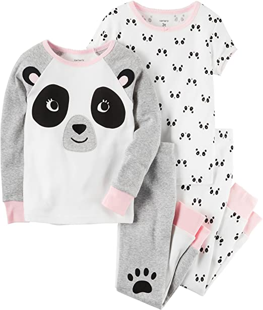 Amazon.com: Carters Girls 12M-12 - Conjunto de pajama para ...
