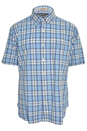 The New Ivy Mens Indian Madras Shirt (Medium cabc8ab967