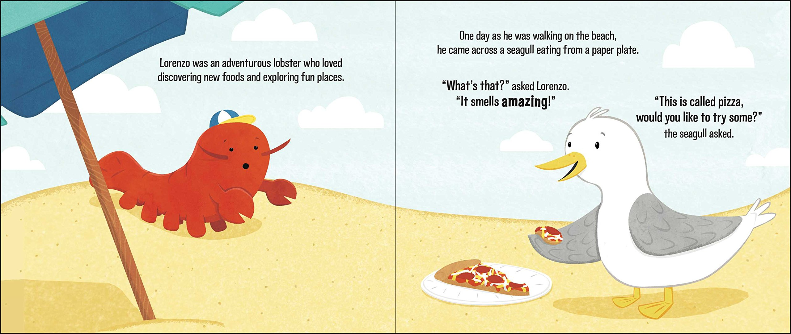 Lorenzo the pizza loving lobster claire lordon 9781499802283 lorenzo the pizza loving lobster claire lordon 9781499802283 amazon books jeuxipadfo Image collections