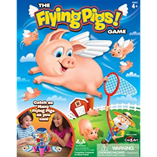 Cra-Z-Art Flying Pigs Family Fun Game, Kids Ages 4 Years and Up