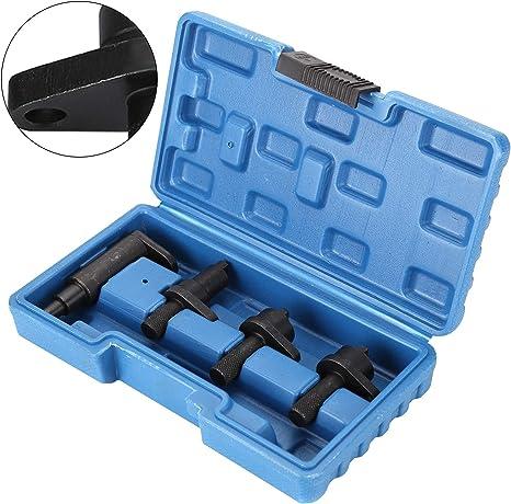 Allright 4 Tlg Motor Einstellwerkzeug Arretierwerkzeug Steuerzeiten Steuerkette Nockenwellen Tool Set Auto