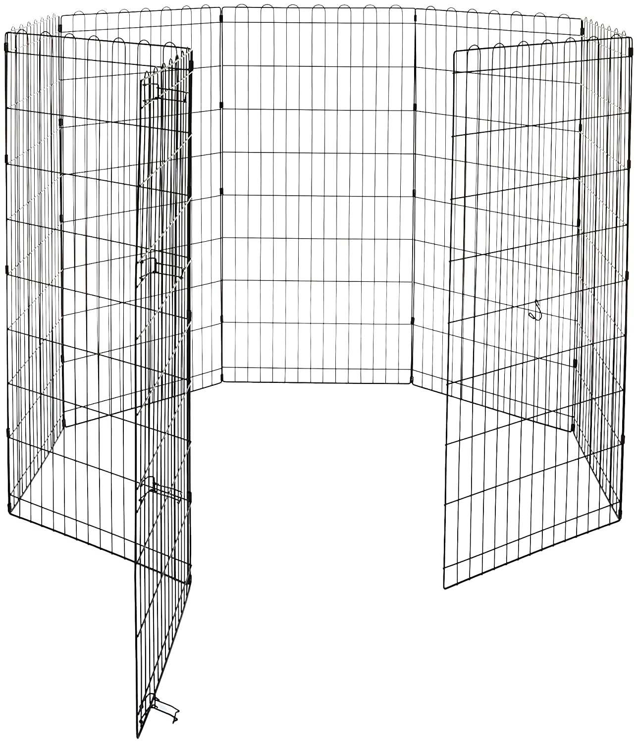 48-Inch Basics Foldable Metal Pet Exercise and Playpen