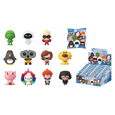 Disney Series 8 3D Foam Collectible Blind Bag Key Chains: Toys & Games