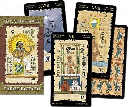 Lo Scarabeo - Tarjetas: Antiguo egipcio Tarot bazas (XL ...