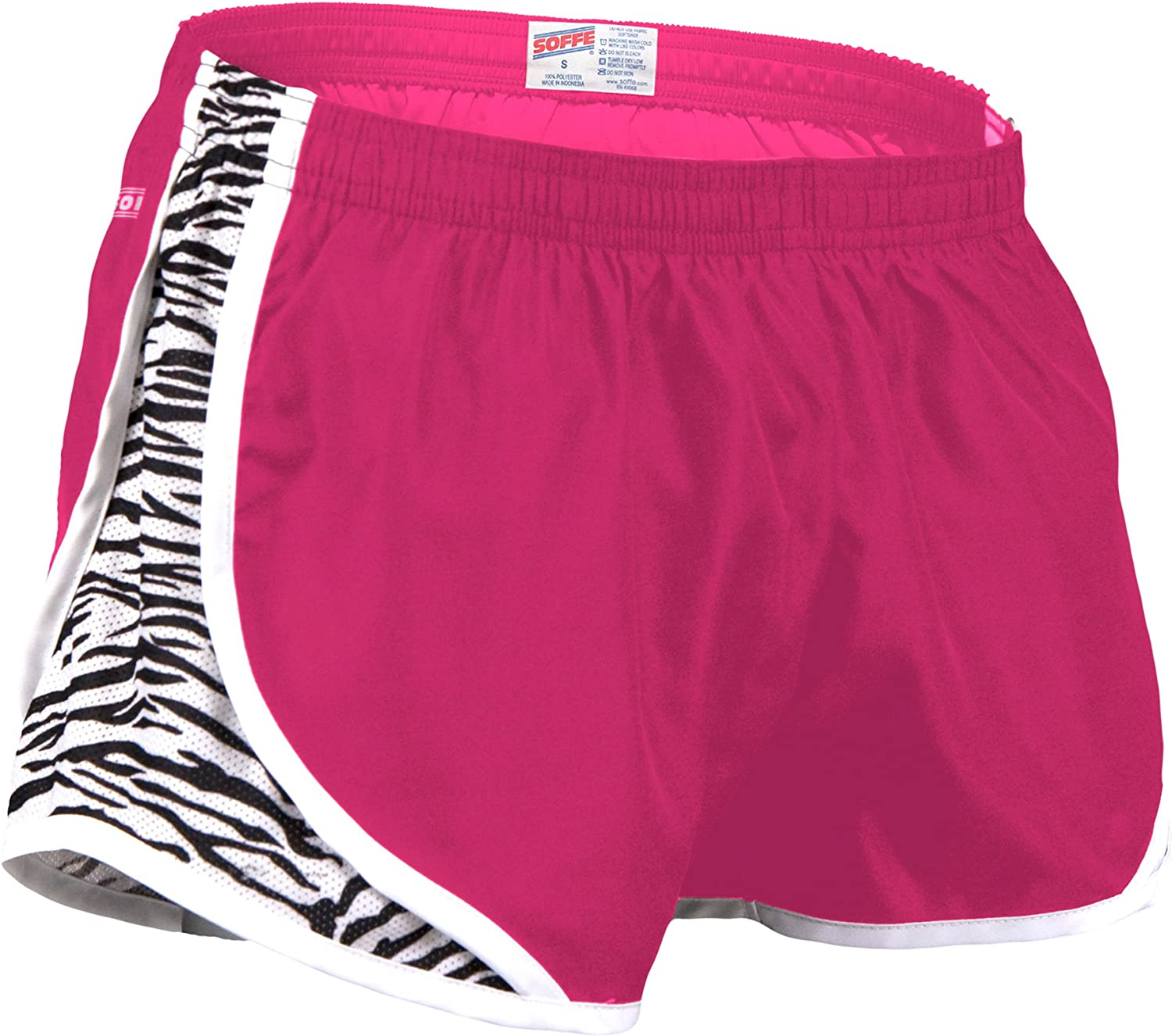 Soffe Womens Big Girls Team Shorty Short