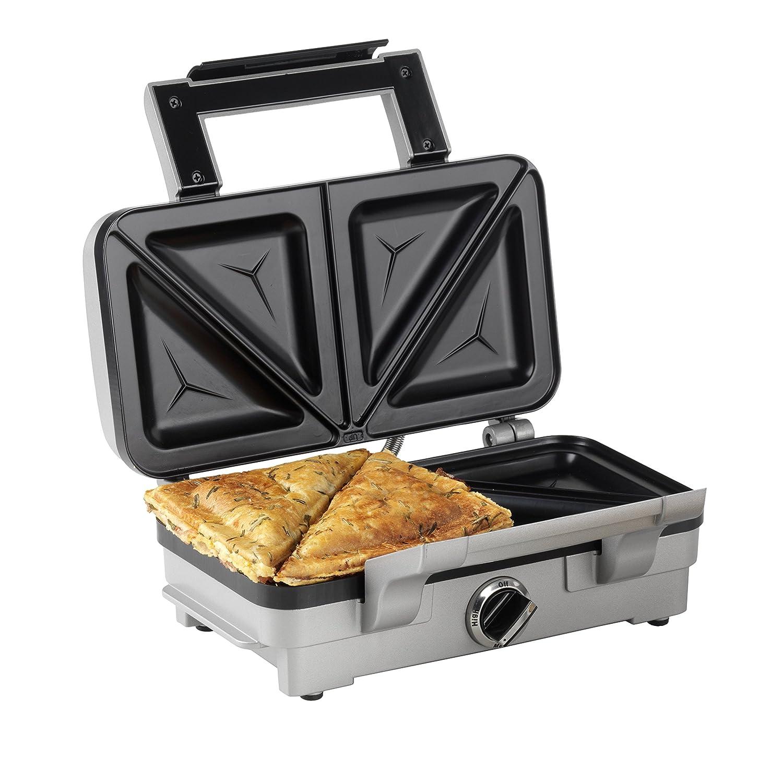 Cuisinart 2-in-1 2-in-1 2-in-1 Sandwich und Waffeleisen, 1000 Watt, Silber B00OBDMEYC Fensterdekoration f2d08c