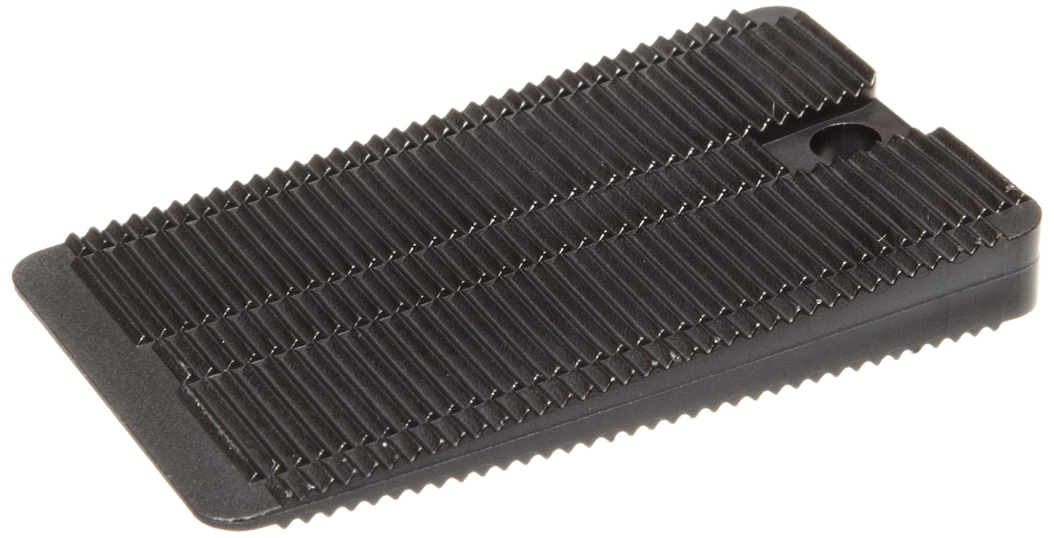Polypropylene Wedge-Shaped Shim, Black, Inch, 1-3/16'' Width, 1-15/16'' Length (Pack Of 200) by Small Parts