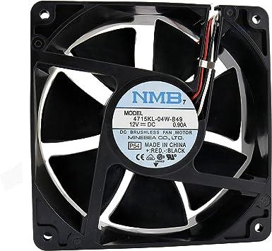 NMB Ventilador 120 mm 120 x 120 x 38 4715KL-04W-B49 12 V 0,9 ...