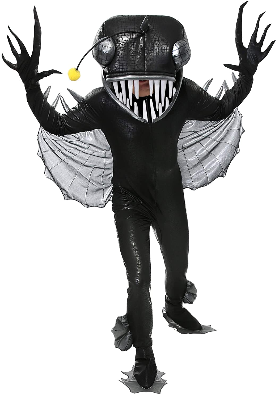Angler Fish Adult Fancy Dress Costume Medium