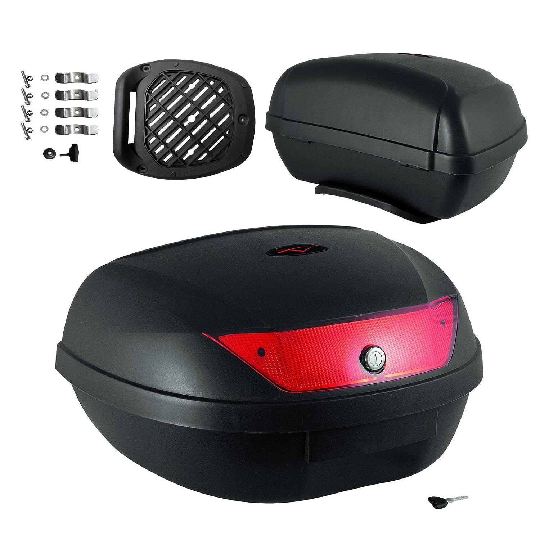 Top Case Moto Touring 49 lt.Quad Bagage Coffer Valise Fermeture A-PRO 5180000072728