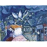 The Dream 1939 Marc Chagall Museum Landscape Farm Animals Religious Print Poster
