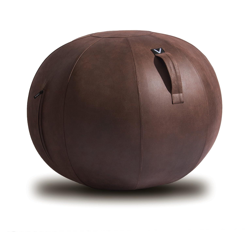本物の Vivora Max Luno - 自立型ボールチェア~ポンプ&ハンドル付き ベースリング不要 B07BHT3P5F African Wenge African Vivora Max Max|African Wenge, ぴよちゃんクリーニング:d1b2e208 --- arianechie.dominiotemporario.com