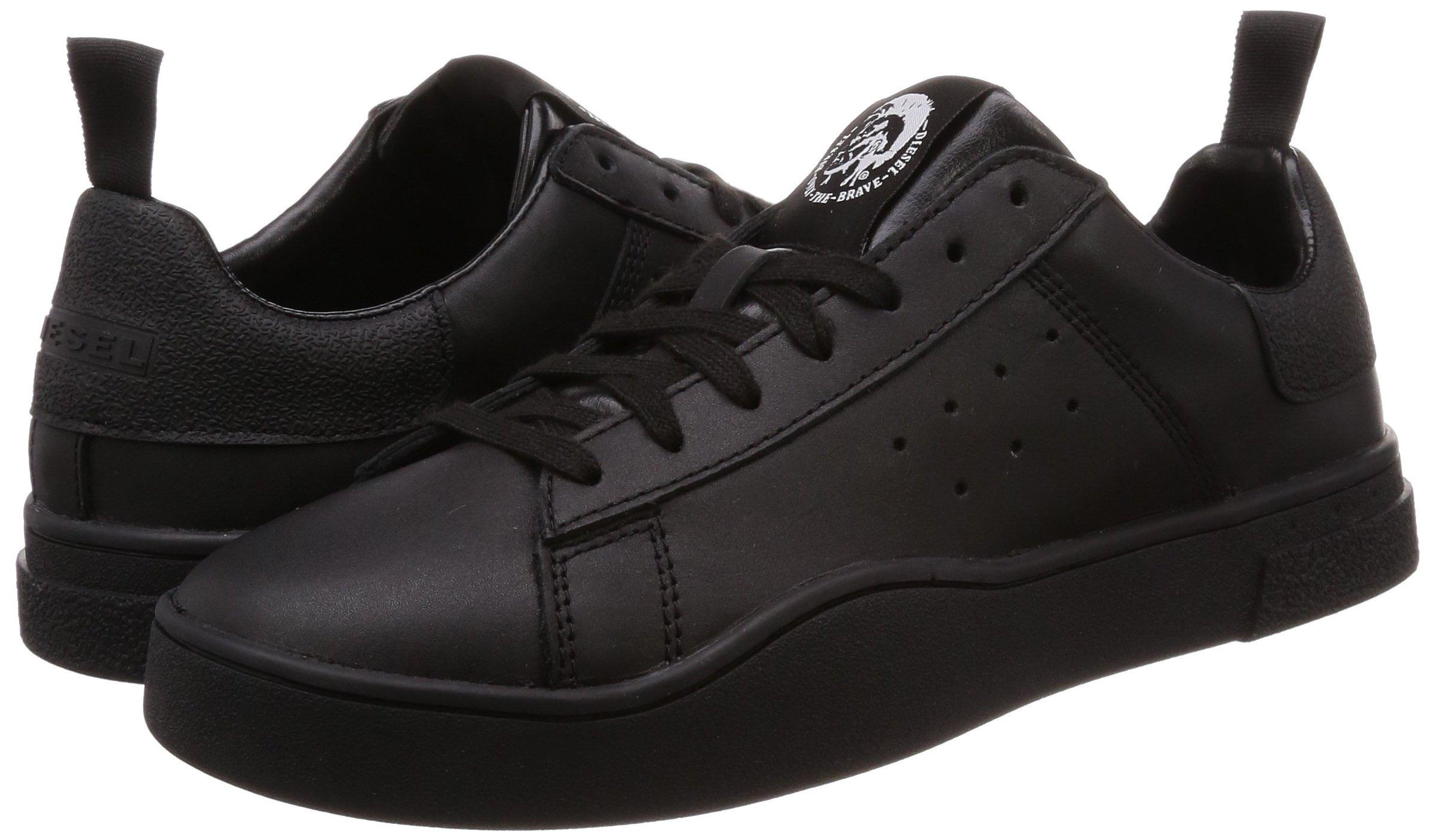 Diesel Men's S-Clever Low-Sneakers Black, 8 M US by Diesel (Image #5)