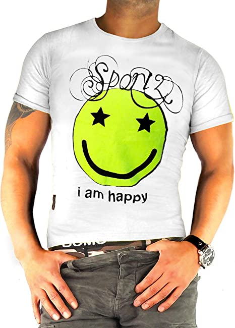 if he Camiseta para Hombre con la diversión - Motivo de ...