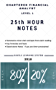 2018 CFA Level 1 - 25th HOUR NOTES: Summarize most vital concepts for each Topic - Covers entire syllabus (English Edition)