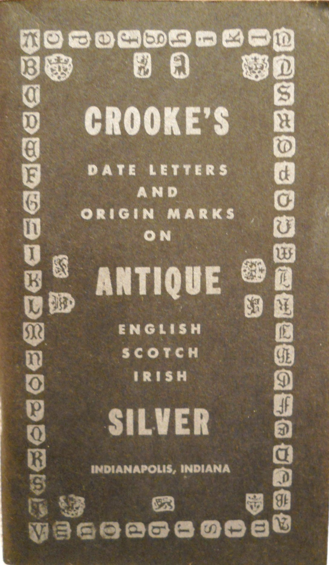Dating english silver marks