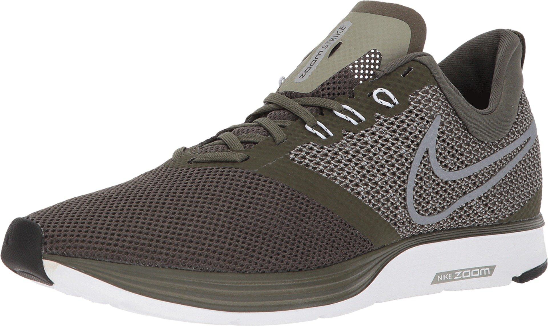 b359a924bf50b Nike Zoom Strike Men's Running Shoes, Green, Size 10 D(M) US