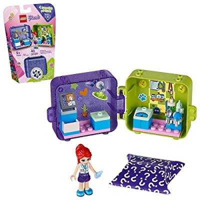 LEGO Friends Mia's Play Cube 41403 Building Kit, Playset Includes Collectible Mini-Doll, for Imaginative Play, New 2020 (40 Pieces): Toys & Games