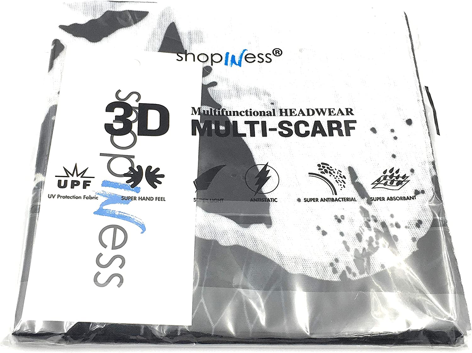 Alien USA ShopINess Cache-Cou//Foulard Multifonctions