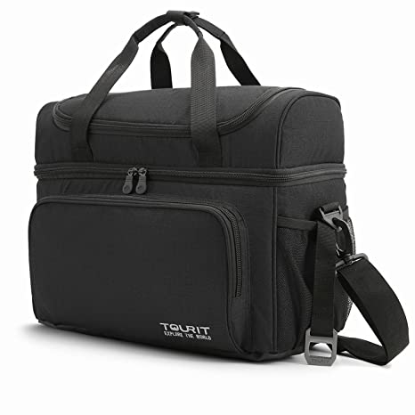 222b16c3b9ad Amazon.com  TOURIT Insulated Cooler Bag 15 Cans Large Lunch Bag ...