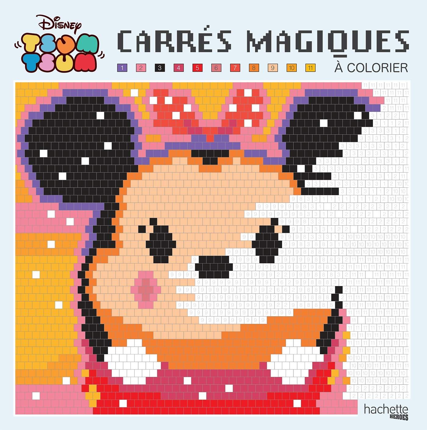 Amazonfr Grand Carré Magique Tsum Tsum Collectif Disney