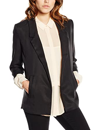 on sale df262 f0cb5 Selected Femme Women s Gavina Blazer, Black, ...