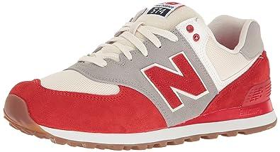 new balance 574v2 hombre rojo