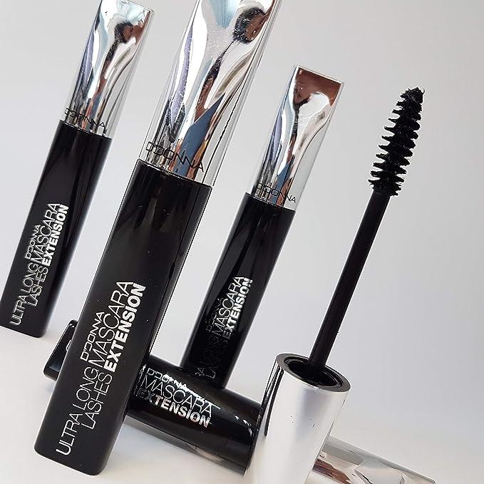 24 Mascara Promoción, apto para extensiones de pestañas - libre de aceite: Amazon.es: Belleza