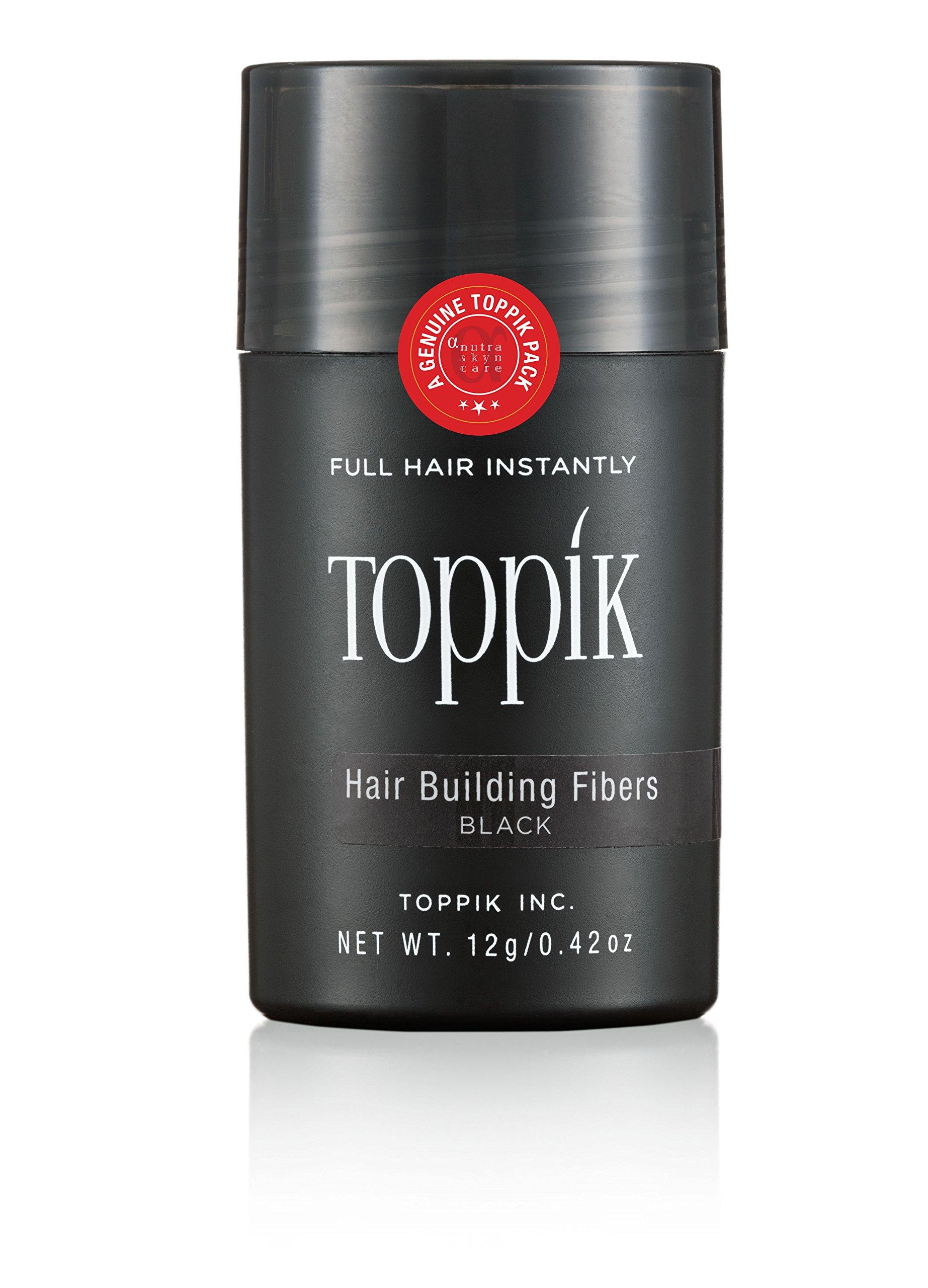 Toppik Hair Building Fibers Black, 12g