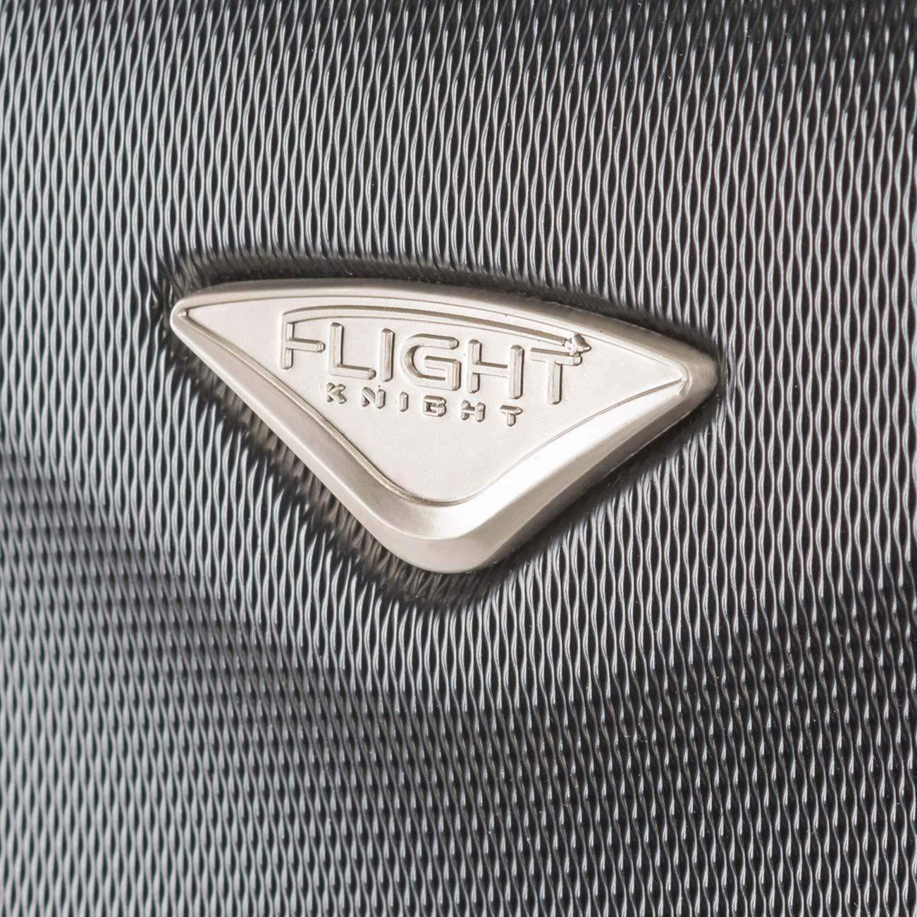 Flight Knight ABS Valise Cabine 55x35x20 cm Compatible avec Air France easyJet Bagage /à Main L/ég/ère Sac Cabine avec 8 Roues. Hop RyanAir Et Bien dautres