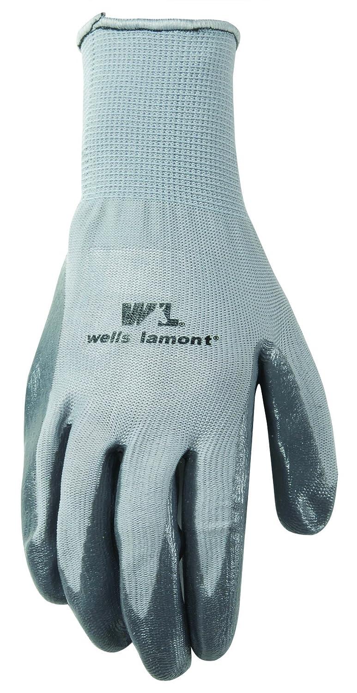 Nitrile Coated Wells Lamont Work Gloves 546M Medium