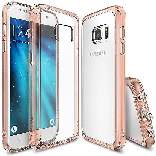 59 opinioni per Custodia Galaxy S7, Ringke [FUSION] Assorbimento urti TPU Goccia Protezione,