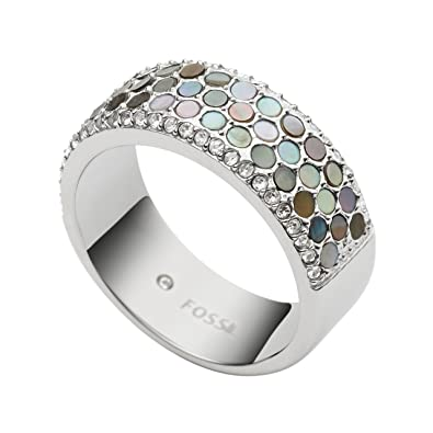 Fossil Women's Silver Ring JF02313040 XNeG1CAb