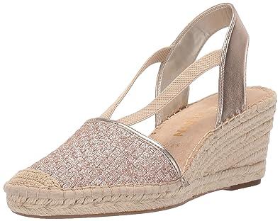 3da200eeea1 Anne Klein Women's Aneesa Espadrille Wedge Sandal: Buy Online at Low ...