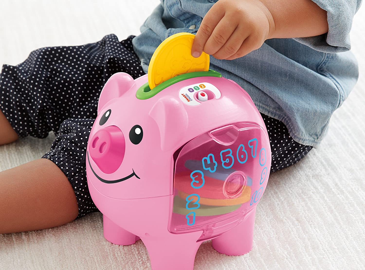 Fisher-Price Laugh and Learn Count and Learn Piggy Bank