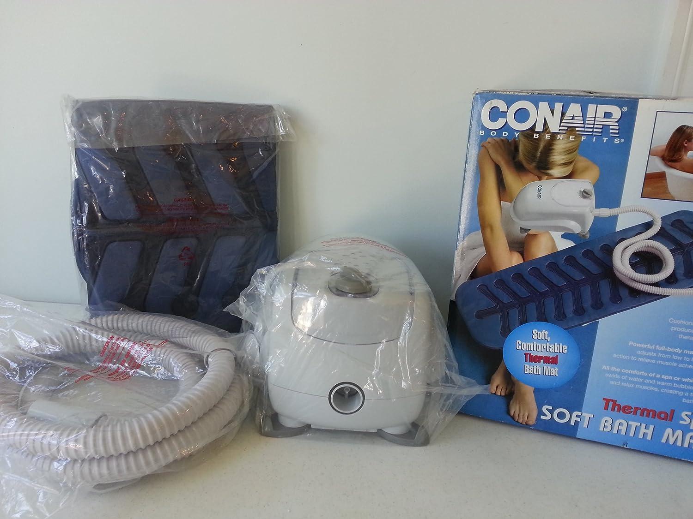 Amazon.com : Conair Thermal Spa Soft Bath Mat : Thermal Spa Bath Mat ...