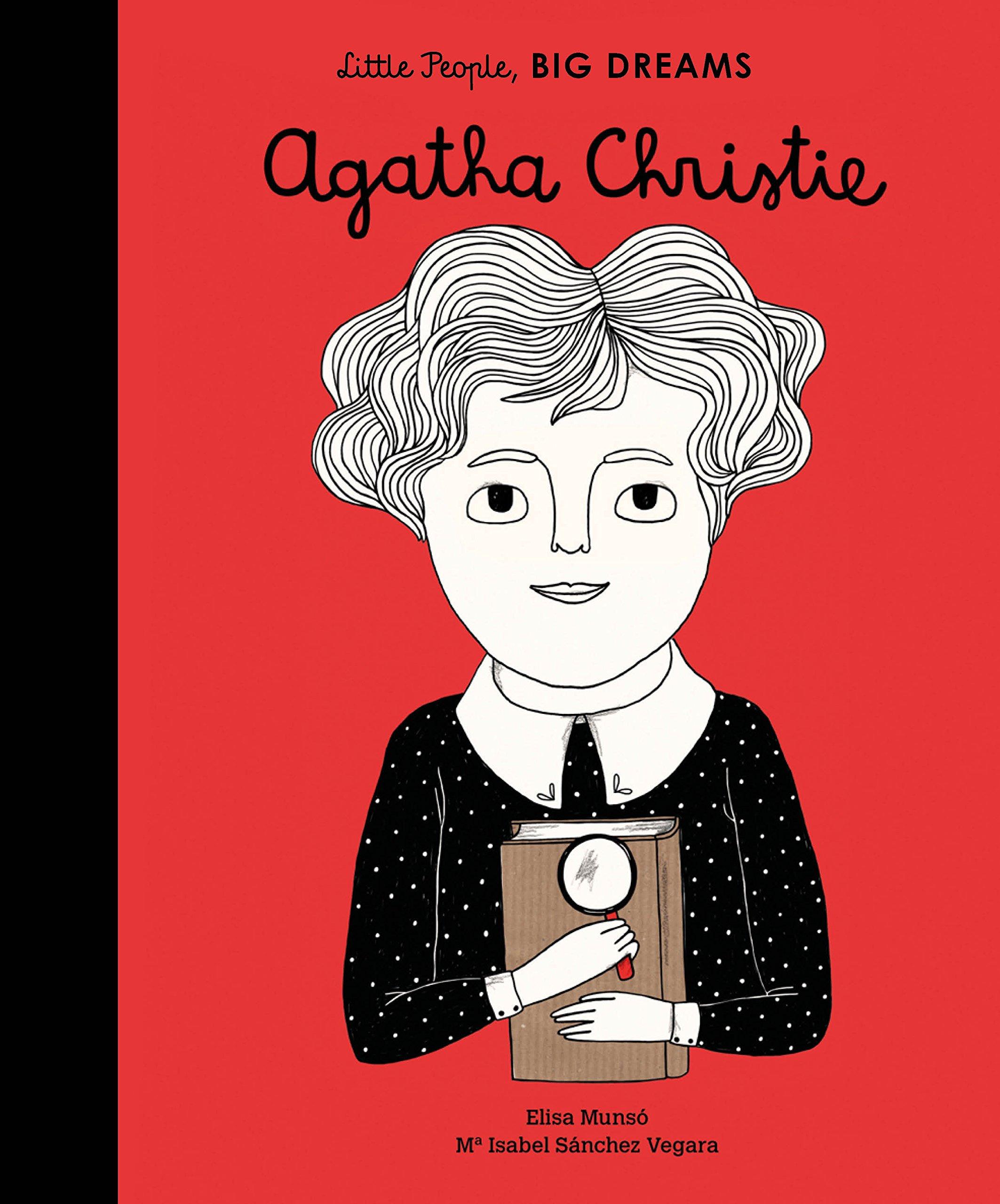 Agatha Christie: 5 (Little People, Big Dreams): Amazon.co.uk: Sanchez  Vegara, Isabel, Munso, Elisa: Books