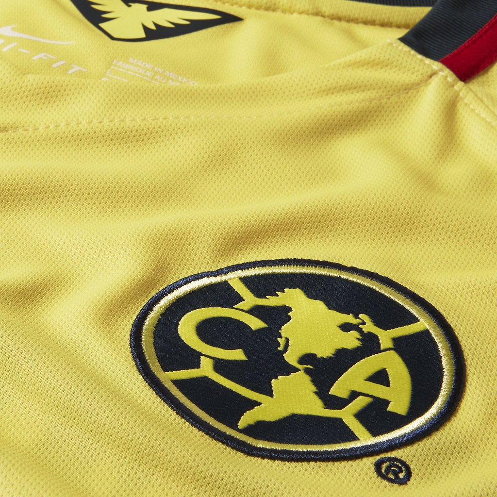 Amazon.com : Nike Mens Club America Home Stadium Jersey [Lemon Chiffon] (S) : Sports & Outdoors