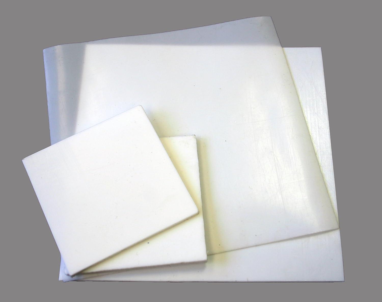 PTFE Teflon Sheet White Polytetrafluoroethylene Engineering Plastic 210mm x 297mm 1.5mm Thick A4