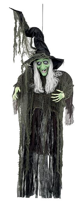 Decoration Sorciere Halloween.Boland Bv Rien à Suspendre Décoration Sorcière D Halloween